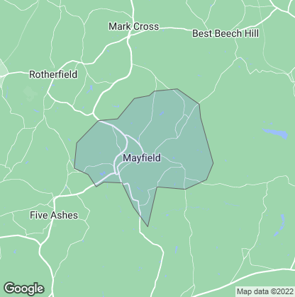 Map of property in Mayfield