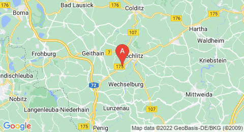 map of Rochlitzer Berg (Germany)