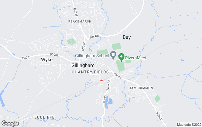 Map for Hambledon Estate Agents, Gillingham