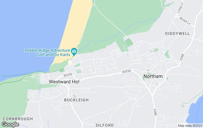 Map for JD Commercial, Devon