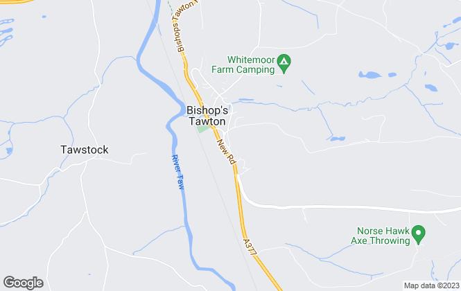 Map for Elm Property, Barnstaple