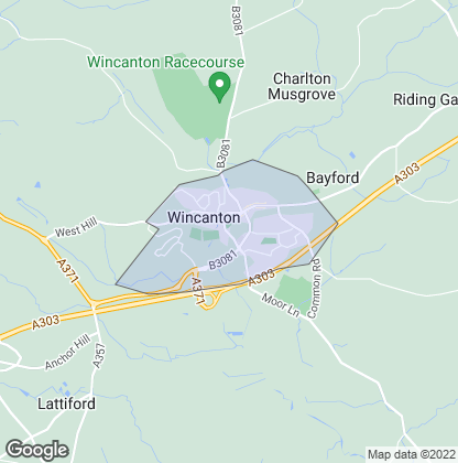 Map of property in Wincanton