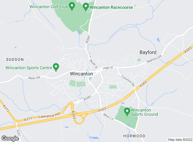 Map for Chaffers Estate Agents, Wincanton