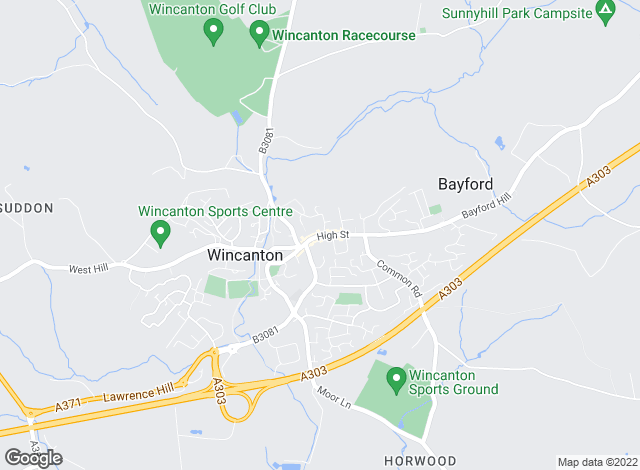 Map for Hambledon Estate Agents, Wincanton