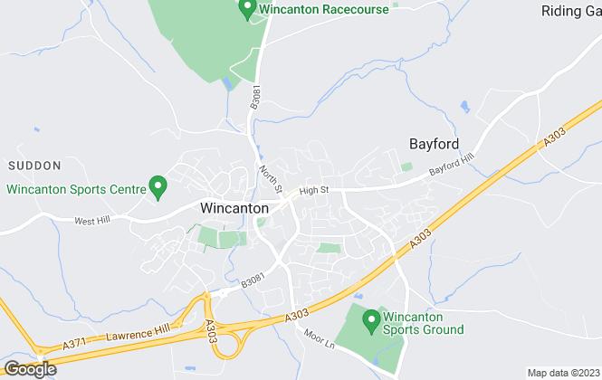 Map for Hambledon Estate Agents, Wincanton
