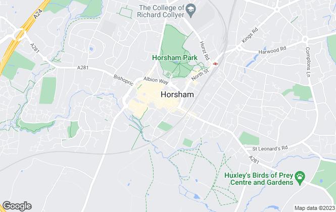 Map for Brock Taylor, Horsham