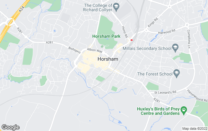 Map for Mapp & Weston, Horsham