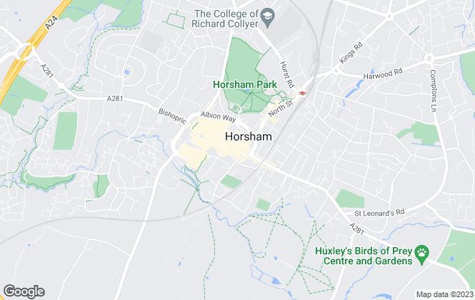 Map for Mapp & Weston, Horsham