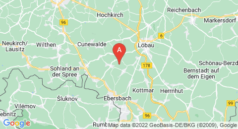 map of Kuhberg (Germany)