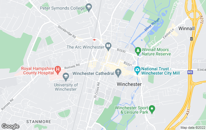 Map for Winkworth, Winchester