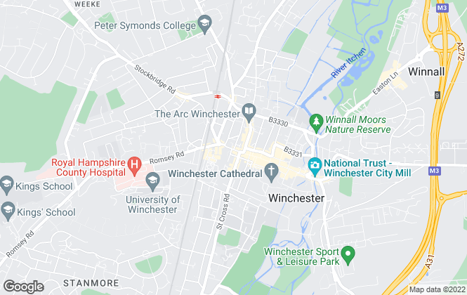 Map for Your Move , Winchester