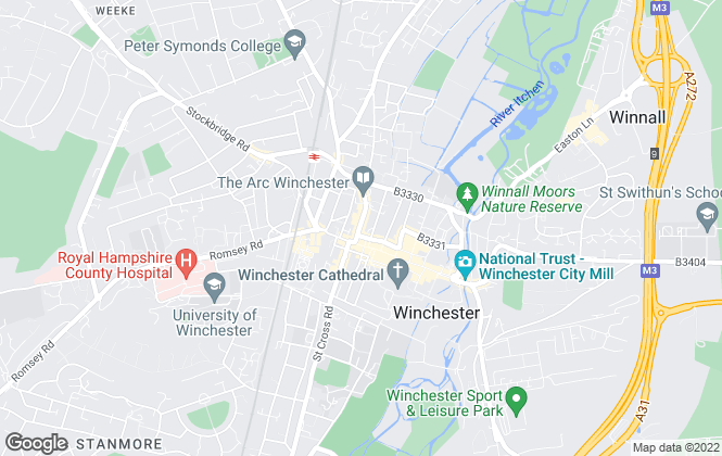 Map for Savills, Winchester