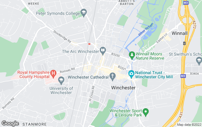Map for Knight Frank, Winchester
