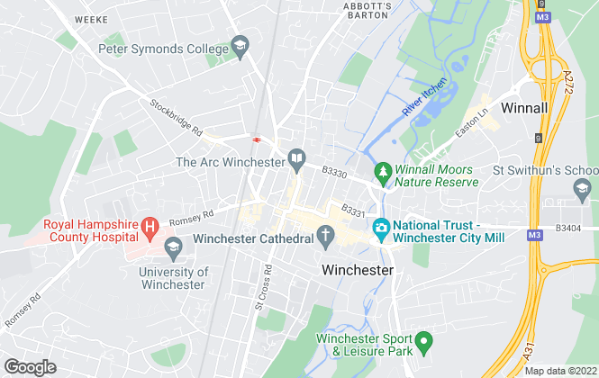 Map for Goadsby, Winchester - Lettings