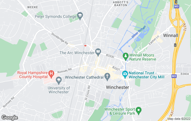 Map for Connells, Winchester