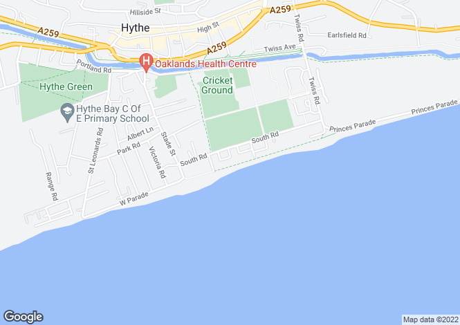 Map for Marine Parade,