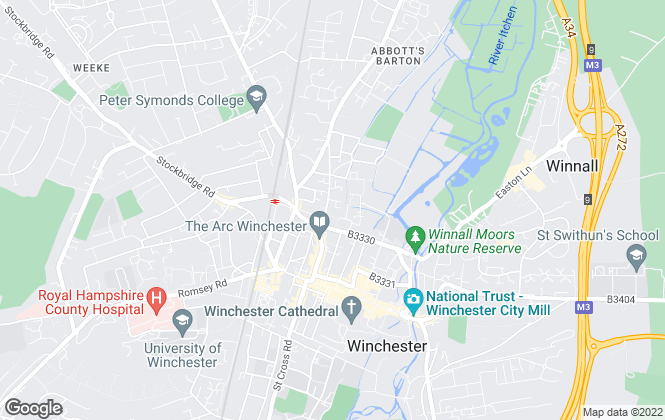 Map for Pearsons Commercial, Winchester