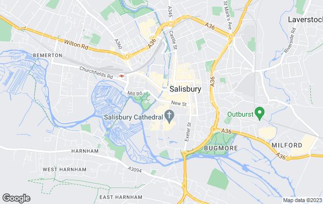 Map for Symonds & Sampson , Salisbury