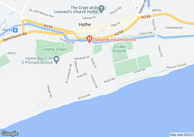 Map for Stade Street,