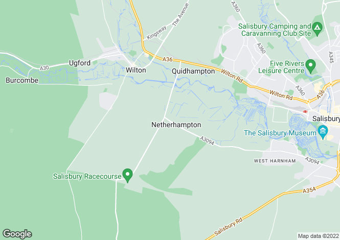 Map for NETHERHAMPTON