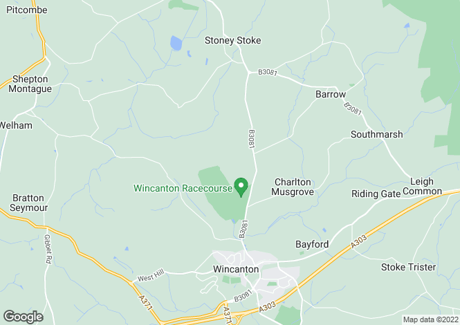 Map for Charlton Musgrove, Nr Wincanton