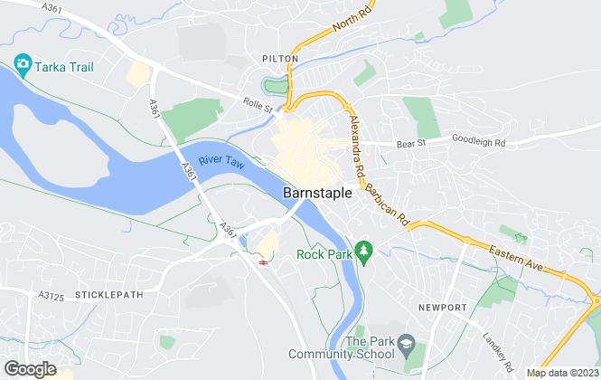 Map for Match Property, Devon