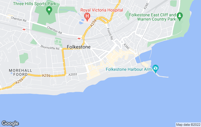 Map for PLS � Property Lettings & Sales, Folkestone Lettings