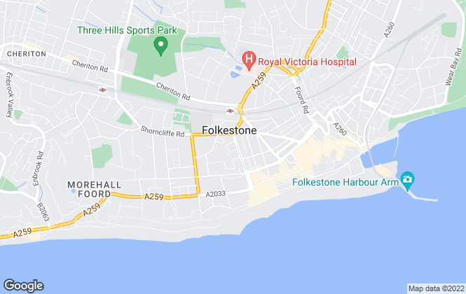 Map for Smith Woolley, Folkestone