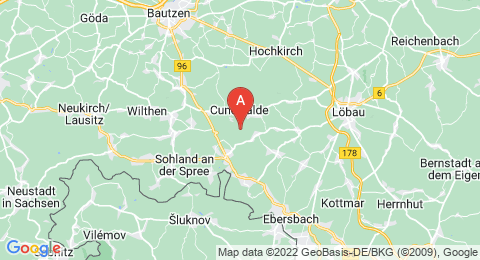 map of Bieleboh (Germany)
