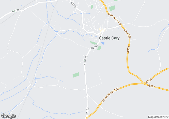 Map for South Street, Castle Cary