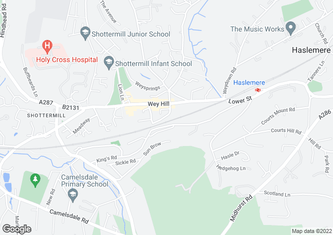 Map for St. Christophers Close, St. Christophers Road,
