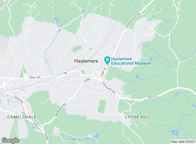 Map for Property Services (Haslemere) Ltd, Haslemere