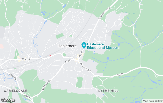 Map for Seymours, Haslemere