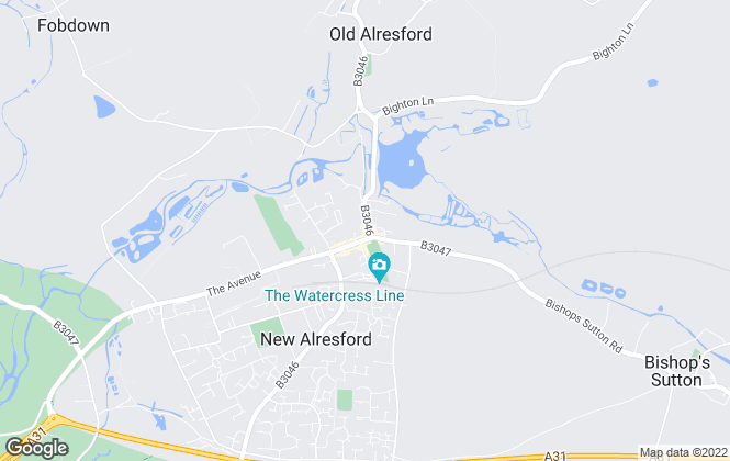 Map for Hellards Estate Agents, Alresford Lettings