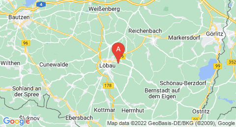 map of Löbauer Berg (Germany)