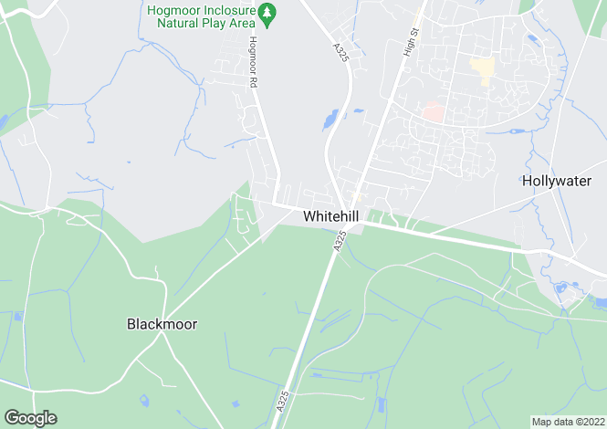 Map for Firgrove Road,