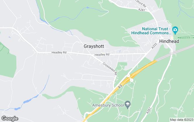 Map for Pilgrims Of Hindhead Ltd, Hindhead