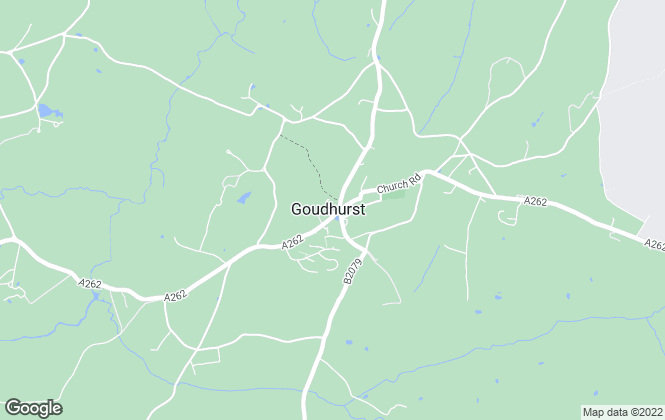 Map for Country Property, Goudhurst