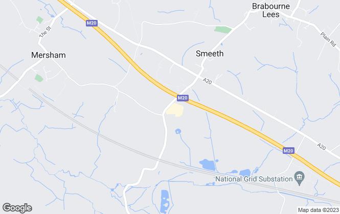 Map for Bradley Bishop Ltd, Ashford
