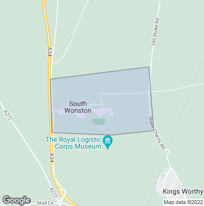 Map of property in South Wonston
