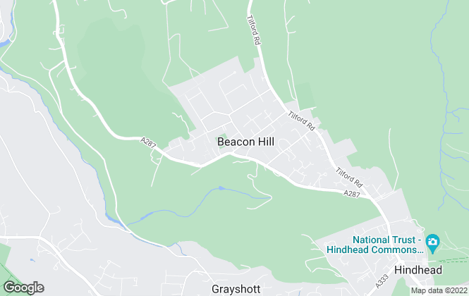 Map for Kelway Law Estates Agents, Hindhead