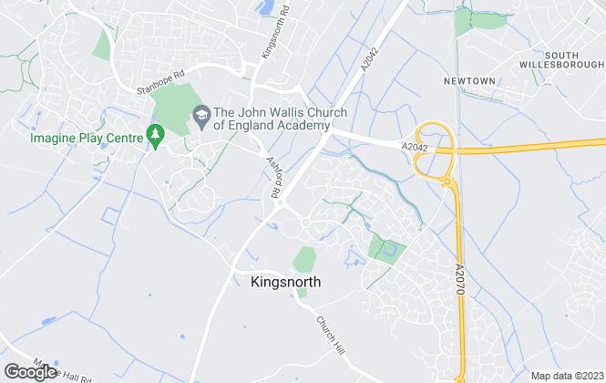 Map for Connells, Park Farm