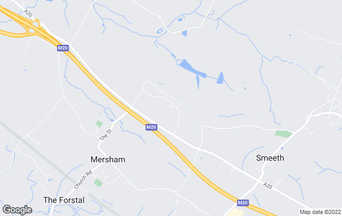 Map for Cobblestone Estates, Ashford