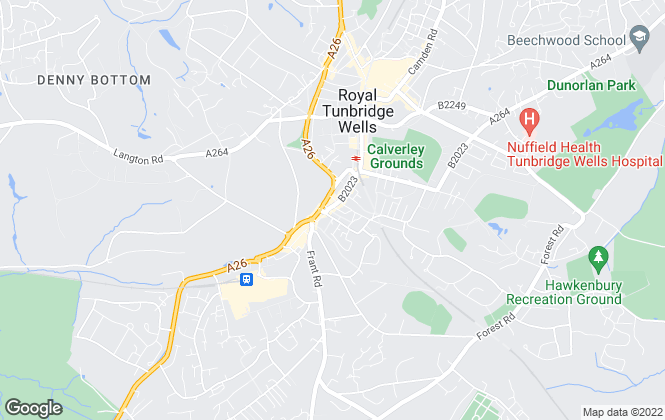 Map for Winkworth, Tunbridge Wells