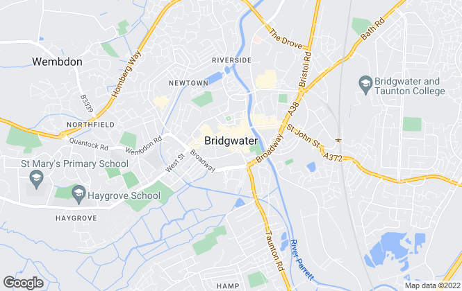 Map for Bridgwater Letting Agency, Bridgwater