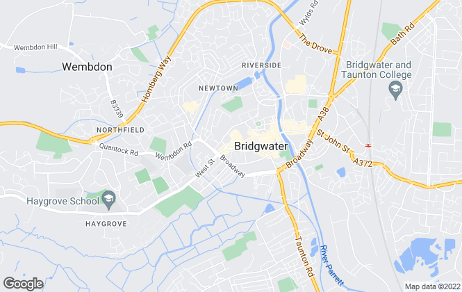 Map for Tamlyn & Son Estate Agents , Bridgwater