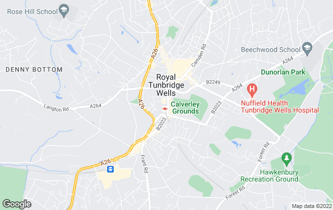 Map for Kings Estate Agents, Tunbridge Wells