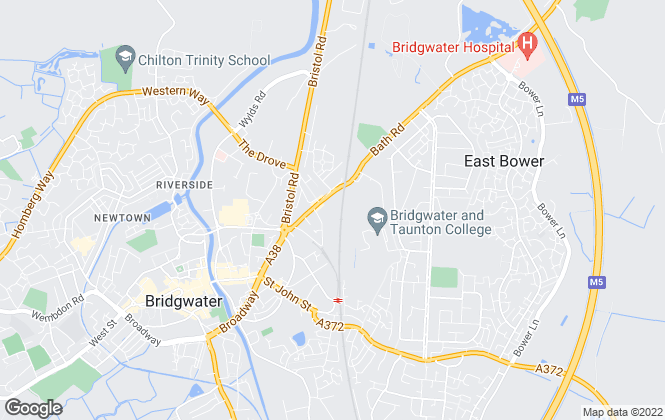 Map for G & A Lettings, Bridgwater