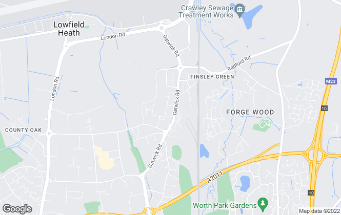 Map for Moore & Partners, Crawley