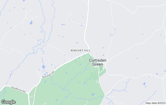 Map for HTP Properties, Goudhurst
